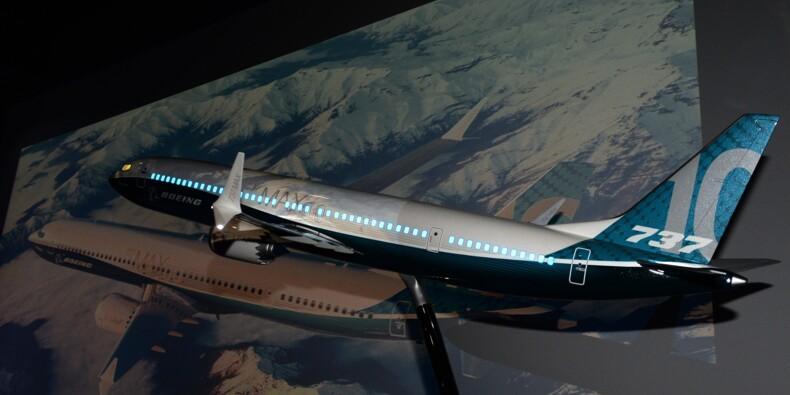 Salon du Bourget:  Boeing annonce une  commande de vingt 737 MAX 10