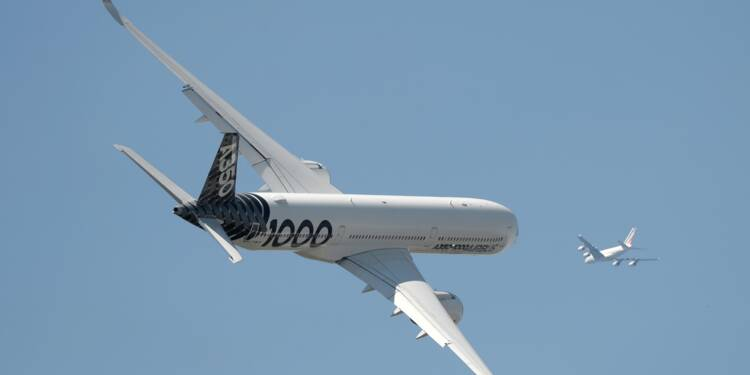 Airbus: certification de l'A350-1000 en Europe et aux Etats-Unis