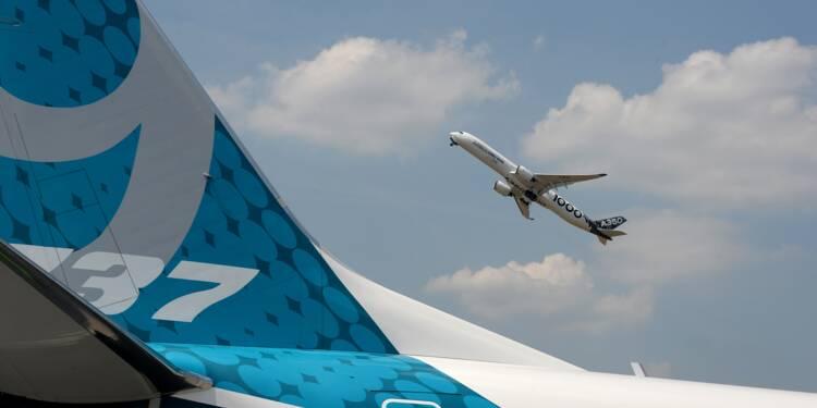 Le Bourget: Boeing devance Airbus en commandes fermes au 3è jour