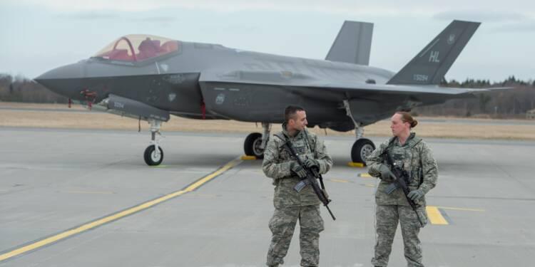 Avion de combat F-35 au Bourget: opération séduction en Europe