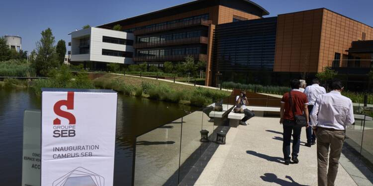 Près de Lyon, le pôle mondial d'innovation de SEB prend son envol