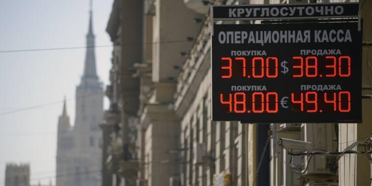 Russie: le rouble au plus bas depuis février, sous un seuil psychologique