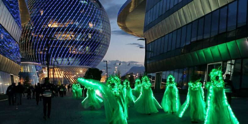 Kazakhstan: coûteuse campagne de pub pour l'expo d'Astana