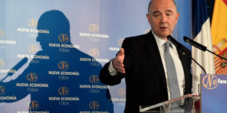 Moscovici propose qu'un commissaire soit président de l'Eurogroupe