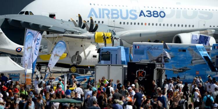Bourget : plus de 100 milliards d'euros de commandes pour Airbus et Boeing