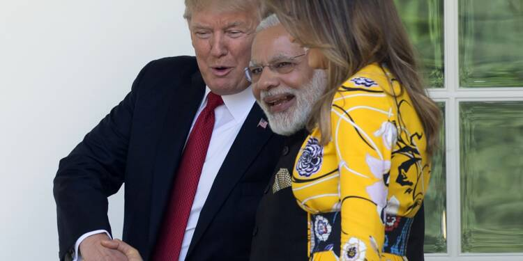 Premier tête-à-tête entre Trump et Modi à la Maison Blanche