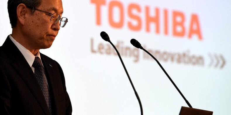 Les actionnaires de Toshiba approuvent la cession de la lucrative filiale de puces-mémoires