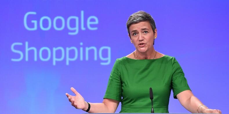 """L'amende infligée à Google """"reviendra aux citoyens européens"""""""