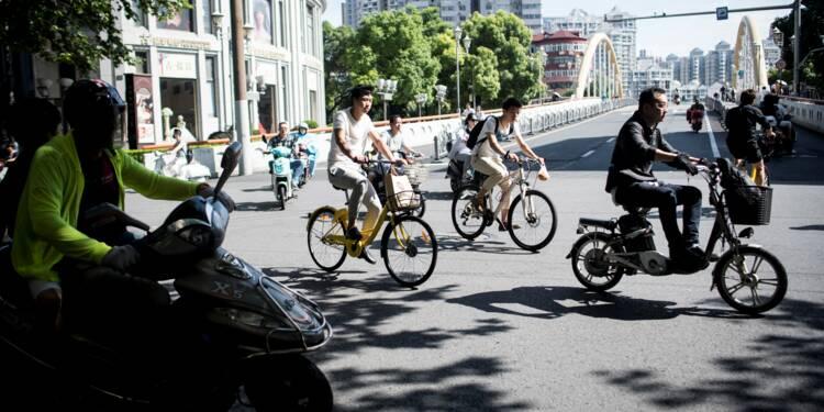 Ballon, vélo ou parapluie: en Chine, tout se partage par applis