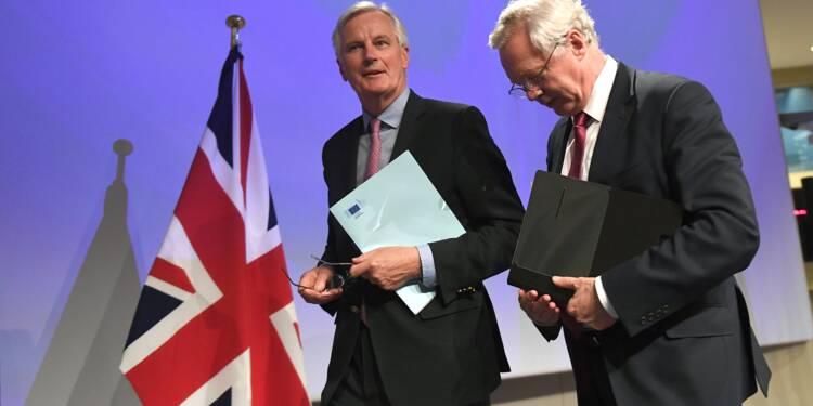 Brexit: rien ne justifierait une absence d'accord, prévient Barnier