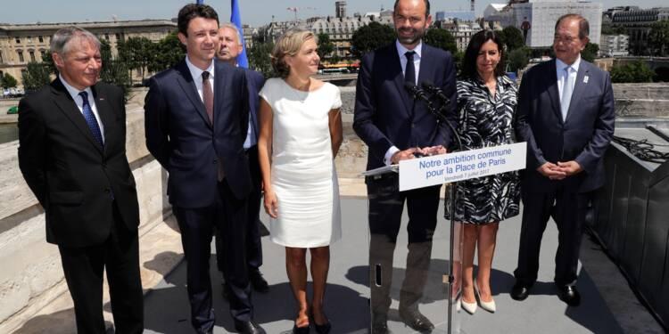 """Brexit: la France déroule son tapis """"bleu blanc rouge"""" à la City"""