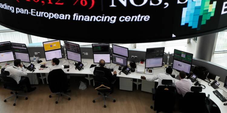 La Bourse de Paris continue à ne prendre aucun risque