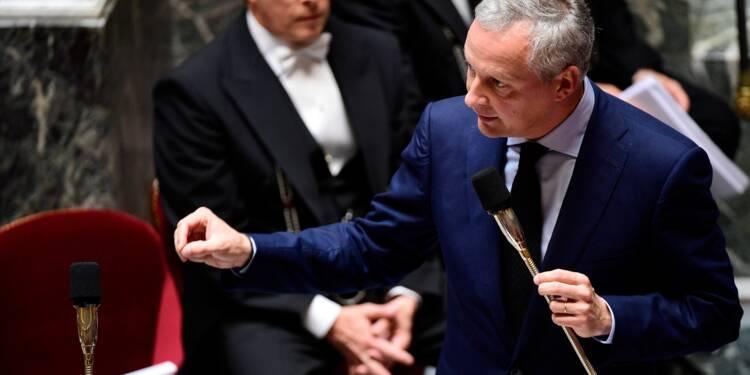 Le Maire juge possible de baisser simultanément dépenses et impôts