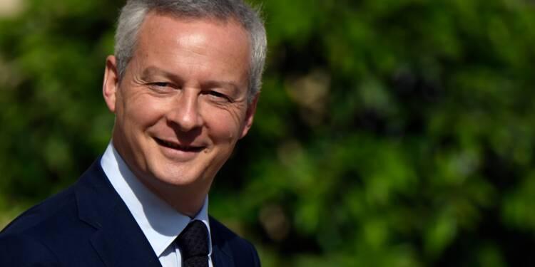Le Maire veut aller vite sur les baisses d'impôts et de dépenses publiques