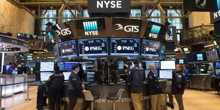 Aux Etats-Unis, les traders à la peine