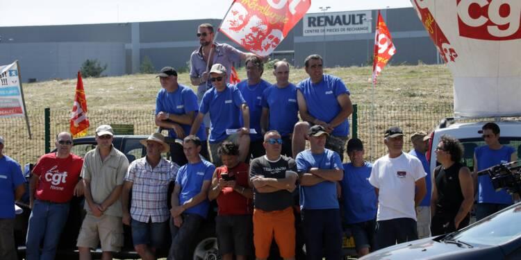 Les salariés de GM&S quitteront la plateforme Renault-Villeroy ce soir