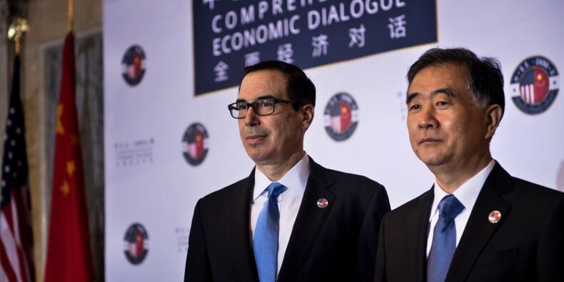 Le dialogue économique Etats-Unis-Chine conclu sans avancée majeure