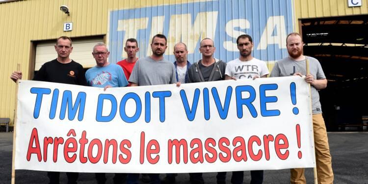 """Chez TIM, près de Dunkerque, le dépit des salariés, """"oubliés"""" de tous"""