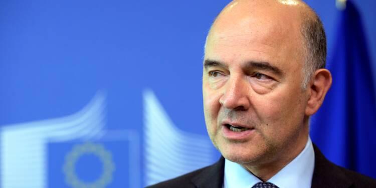 """Grèce: l'accord du FMI, """"signal très positif pour les marchés"""""""