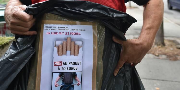 Contre le paquet de cigarettes à 10 euros, des buralistes bâchent des radars
