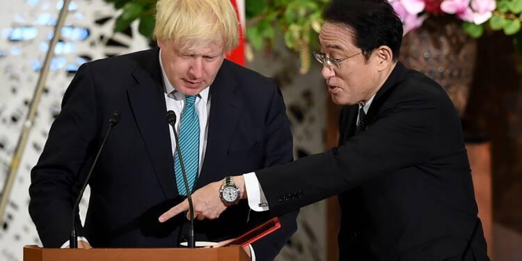 Brexit: Johnson salue le maintien des investissements japonais