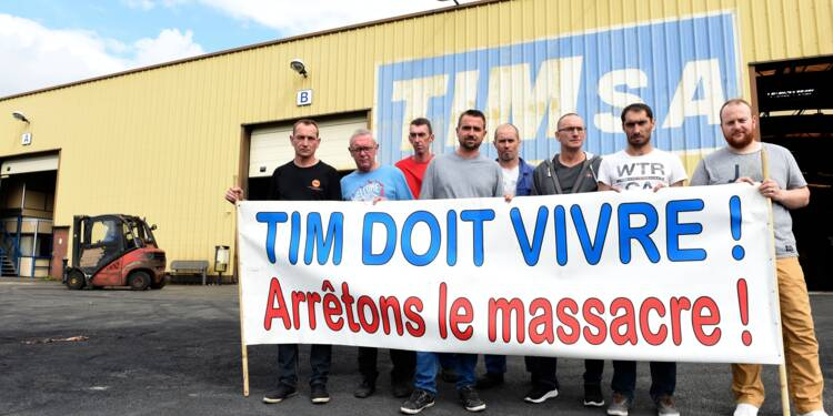 """Repris par Atlas, TIM échappe à la liquidation, les salariés """"soulagés"""""""