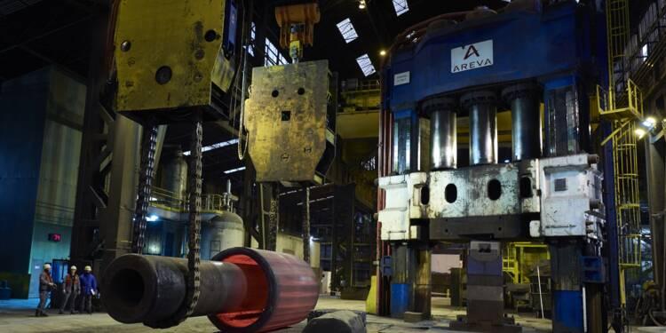 Nucléaire: reprise progressive à l'usine Areva du Creusot