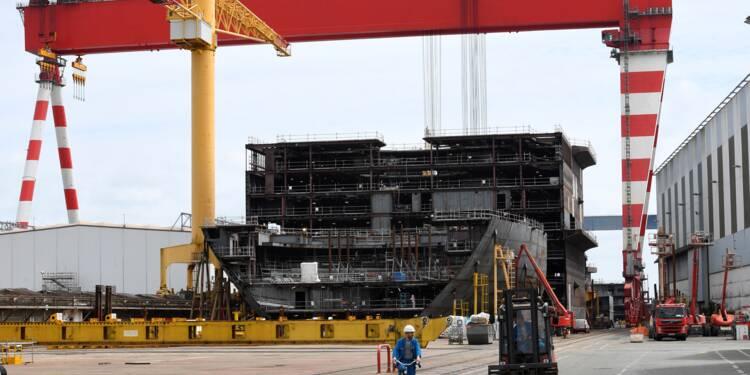 Paris nationalise provisoirement les chantiers navals STX France, colère de Rome