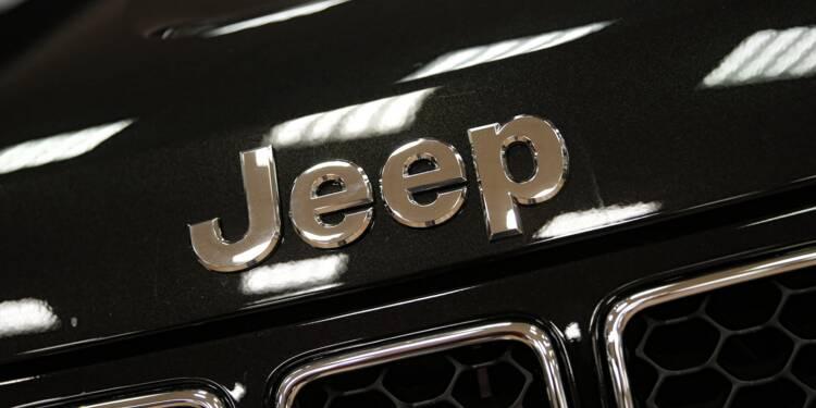 USA/Dieselgate: Fiat Chrysler peut vendre de nouveau certaines Jeep