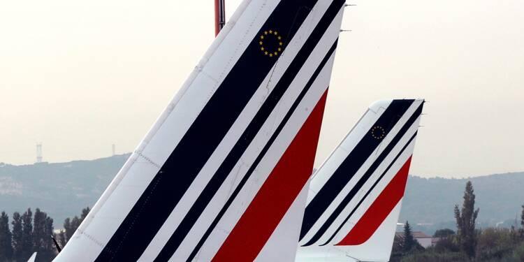 Le titre chahuté après les résultats — AIR FRANCE-KLM