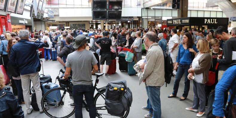 Montparnasse: trafic TGV toujours perturbé lundi, pagaille en gare