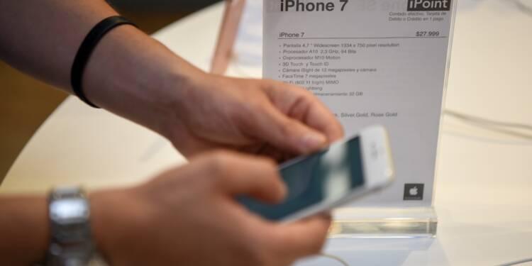 Apple réjouit Wall Street avec de solides ventes d'iPhone et de bonnes prévisions