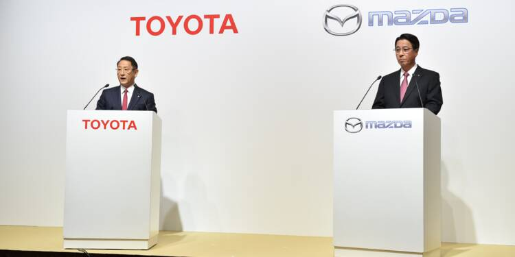 Toyota étend sa toile en renforçant ses liens avec Mazda