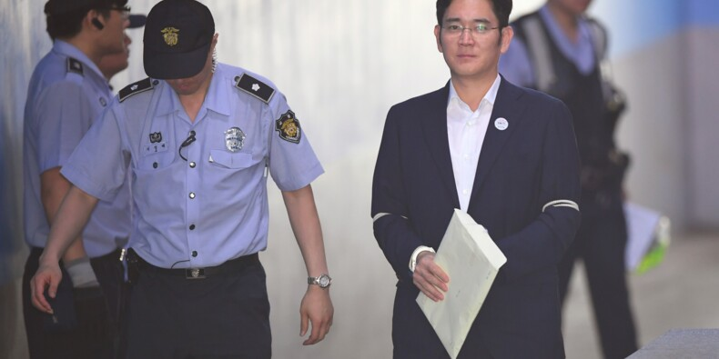 Corée du Sud: 12 ans de prison requis contre l'héritier de Samsung
