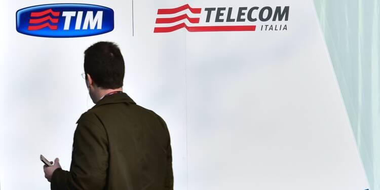 """Vivendi assure n'exercer """"aucun contrôle"""" sur Telecom Italia"""