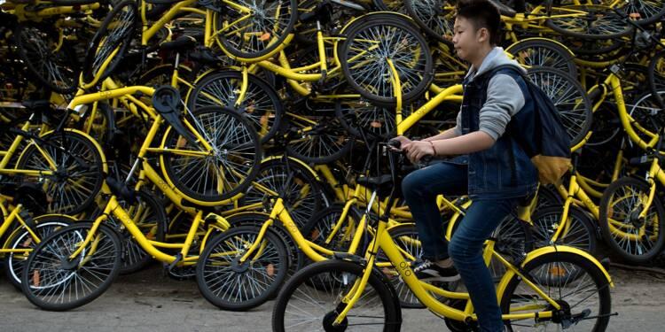 Vélos en partage: Ofo arrive au Japon avec SoftBank
