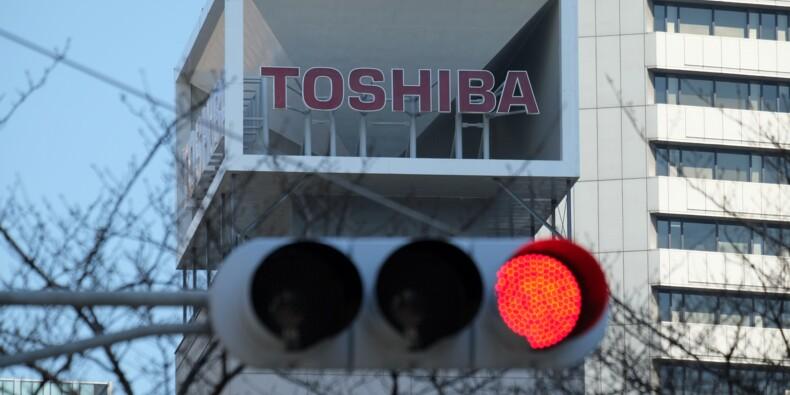 Toshiba publie enfin des comptes annuels