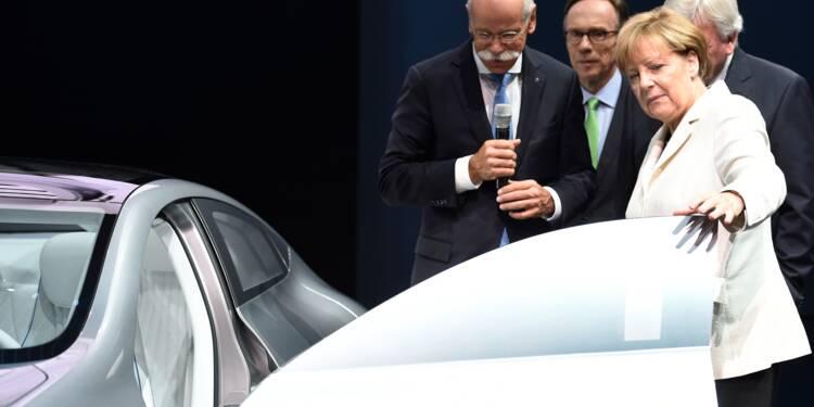 Les mensonges de l'automobile au coeur de la campagne électorale allemande