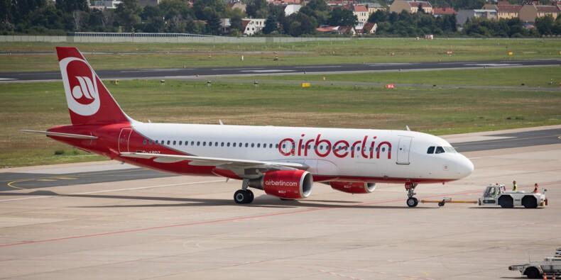 Air Berlin, au bord de la faillite, continue de voler
