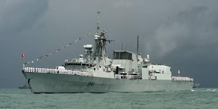 Thales: contrat d'entretien de la flotte de la Marine royale canadienne