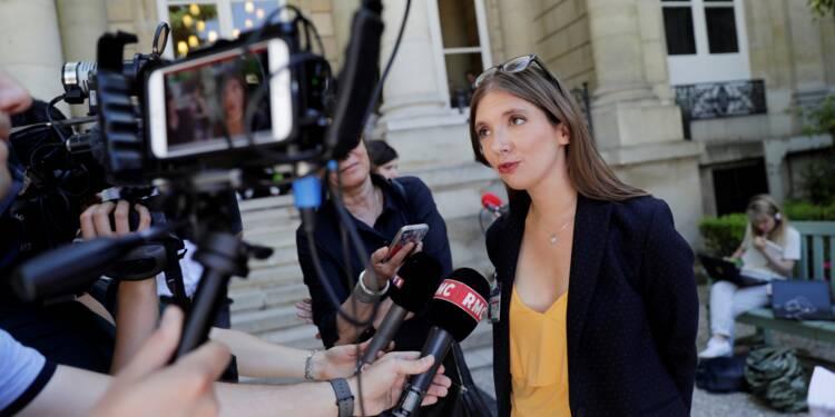 Aurore Bergé (REM) défend une révision du nombre des contrats aidés
