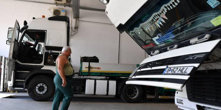 """Travail détaché: les conducteurs routiers """"laissés pour compte"""""""