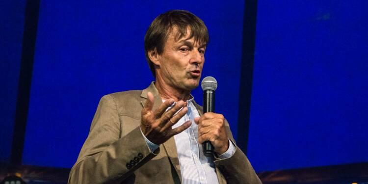 Nicolas Hulot annonce une hausse de 3% du budget de son ministère