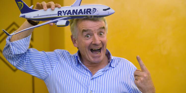 Michael O'Leary, fils de bonne famille provocateur, dans la tourmente de Ryanair