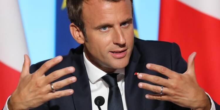 """Macron entend """"l'impatience du peuple"""" mais demande à être jugé sur la durée"""