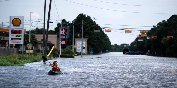 Harvey, 58 milliards de dollars de dommages pour le Texas (estimation)