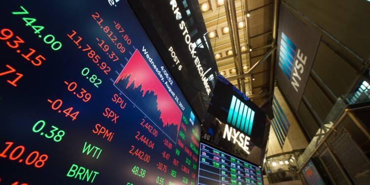 Wall Street, affectée par les valeurs financières, termine sans direction
