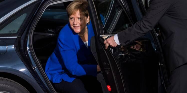 Allemagne: la crise du diesel rattrape Merkel en pleine campagne électorale