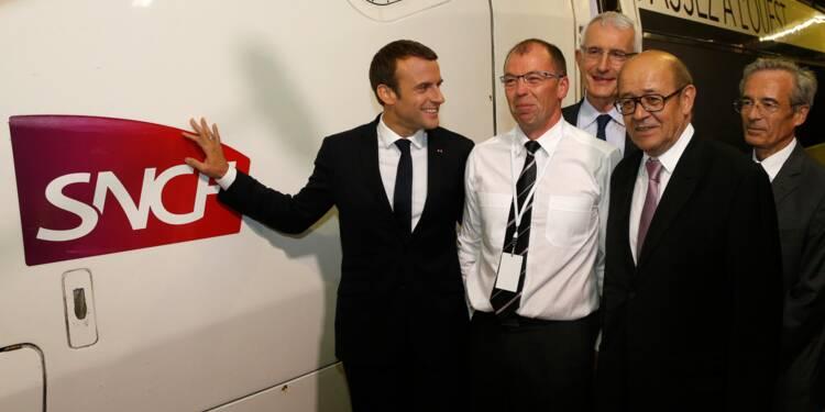 Macron s'attaque enfin au régime de retraite des cheminots