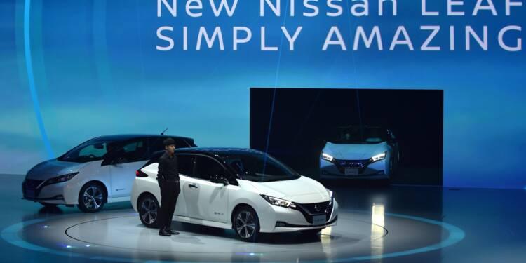 Voitures électriques : Nissan généralise le pilotage automatique dans sa nouvelle Leaf